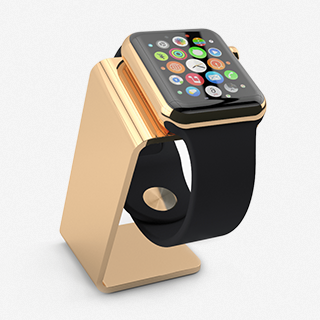 Saat Stand Golden for Apple Watch