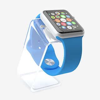 Saat Stand PlexiGlass for Watch Charging Stand